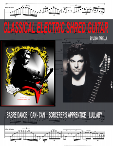 CLASSICAL ELECTRIC SHRED GUITAR