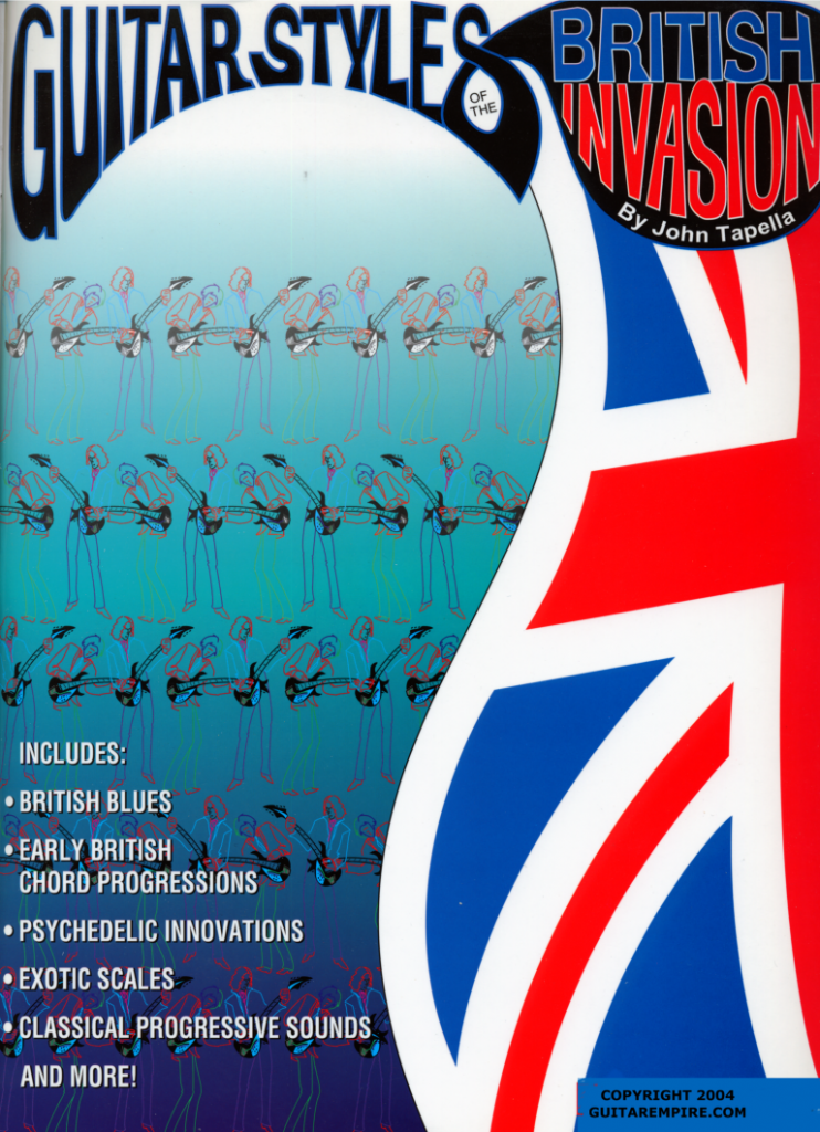 GUITAR STYLES OF THE BRITISH INVASION
